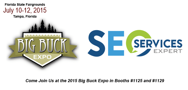Tampa SEO Exhibitor at the Big Buck Expo 2015